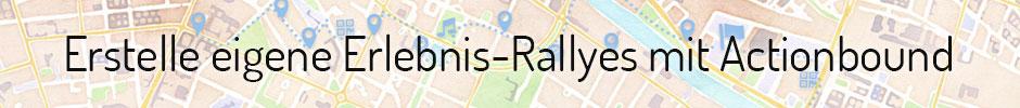 Erstelle eigene Erlebnis-Rallyes mit Actionbound